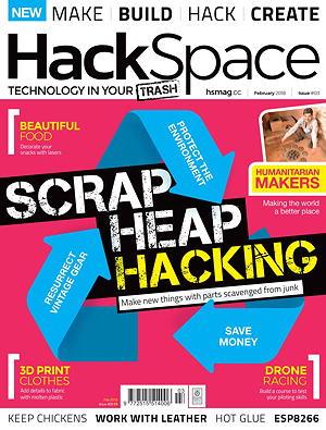 Новий номер безкоштовного журналу HackSpace #03