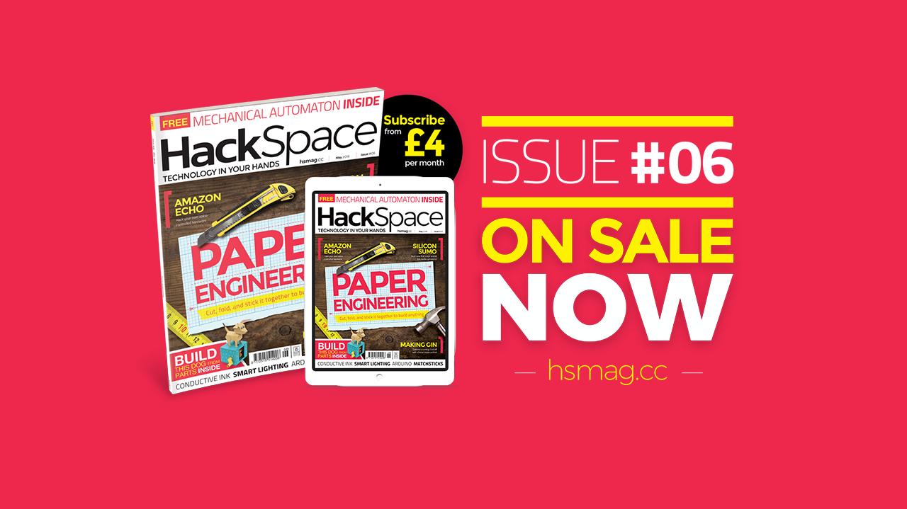 Новий номер безкоштовного журналу HackSpace