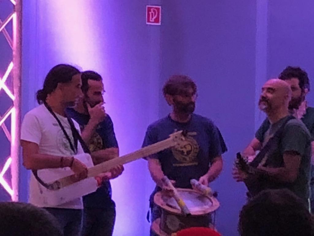 Гурт Junk Band готується відкривати ярмарок Maker Faire Rome